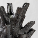 Black Pinecone Vase