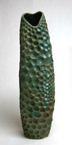 greenhoneycomb-vase